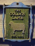 Golden Lamb Sign