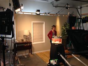 Golden Lamb Studio Set Shoot
